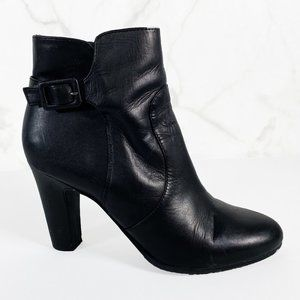 Sam Edelman Sylvie Leather Side Zip Ankle Boots